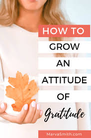 Attitude of Gratitude: Why You Need It and Where to Start - Marva ...