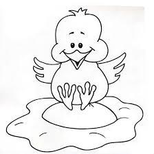 dibujos de pollitos para colorear az