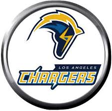 Bolt LA Chargers NFL Football Logo ...