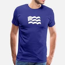 American Flag Sticker Vinyl Decal Usa Stars Unit Men S Premium T Shirt Spreadshirt