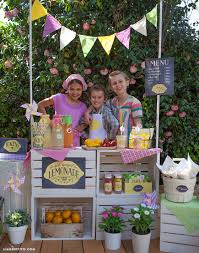 lemonade stand ideas and recipes that