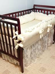 ivory lace royal baby crib bedding