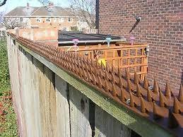 Fence Spikes Garden Strips Anti Climb Burglar Ebay
