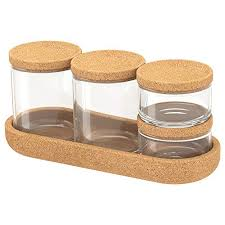 ikea 403 918 79 saxborga jar with lid