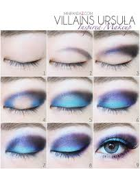 the ursula inspired makeup look