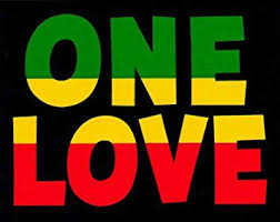 Amazon Com Peace Resource Project One Love With Rasta Reggae Colors Small Bumper Sticker Decal 4 75 X 3 Automotive