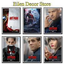 Ant Man Movie Poster Photograph Vintage Poster Decal Posters Prints Wall Art Poster Classic Film For Bedroom Decor 42x30cm Wall Stickers Aliexpress