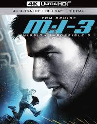 Mission: Impossible III 4K (2006) Ultra HD Blu-ray