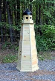 5 ft treated lawn lighthouse plans