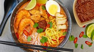 Red Curry Laksa Noodle Soup - YouTube
