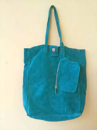 suede leather handbag shoulder