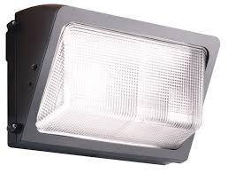 rab lighting 55w led wallpk 50k brz