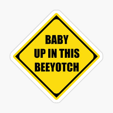 Beeotch Stickers Redbubble