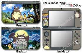 Amazon Com My Neighbor Totoro Skin Sticker Vinyl Decal Cover 1 For New Nintendo 3ds Xl Video Games