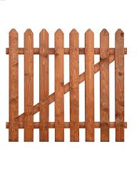 Traditional Style Picket Fence Gate 6ft X 3ft 1830mm X 915mm 4178507