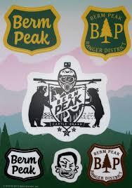 Berm Peak Sticker Kit Cognative Mtb