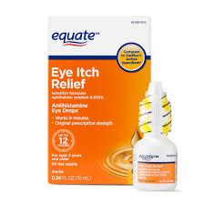 equate antihistamine eye drops eye itch