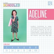 2018 Summer LuLaRoe Adeline Size Chart | Lularoe, Lularoe kids, Comfortable  fashion