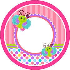 Divertida Mariposa Etiquetas Para Candy Buffet Para Imprimir