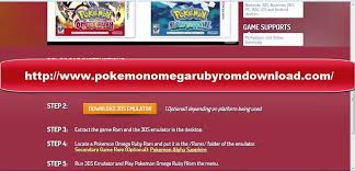 Pokemon Omega Ruby 3DS Emulator tell a grand tale that draws ever ...