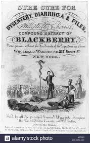 Wells, Miller, and Provost's Compound Extract of Blackberry Stock Photo -  Alamy
