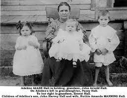 Adeline Elizabeth (Allen) Hall (1860-1924) | WikiTree FREE Family Tree