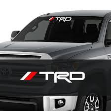 Trd Windshield Sticker Decal Toyota Tacoma Tundra Logo 1pc Etsy