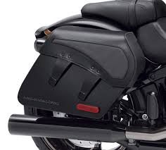 h d detachables leather saddlebags
