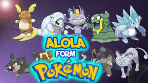 All Alola Forms in Pokemon Sun and Moon! - YouTube