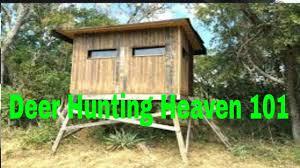 diy deer hunting box blind you