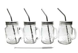 owl mason jar mugs 16 ounce glass
