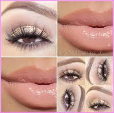cute makeup ideas brown eyes