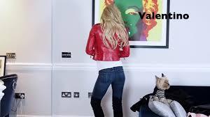 Leather Jacket Collection || Adela King - YouTube