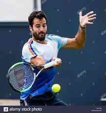 Rosmalen, Netherlands. 10th June, 2019. ROSMALEN, Tennis Libema Open 2019,  WTA and ATP tournament, 10-06-2019, Autotron Rosmalen, Salvatore Caruso  (ITA) Credit: Pro Shots/Alamy Live News Stock Photo - Alamy