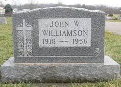 John Wesley Williamson (1918-1956) - Find A Grave Memorial