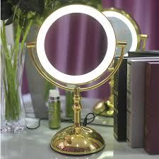 8 extending vanity makeup mirror led