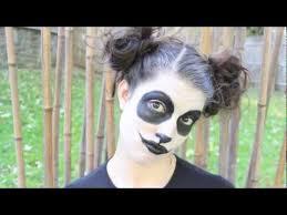 diy creepy cute panda costume you