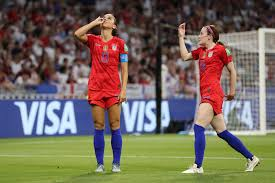 2019 FIFA Women's World Cup: Alex Morgan makes history with tea-sipping  birthday goal