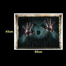 3d Halloween Window Wall Sticker Blood Hand Pvc Witch Vinyl Window Decal Door Home Decor Diy Large Wall Decal Large Wall Decals From Suyu25224 2 40 Dhgate Com
