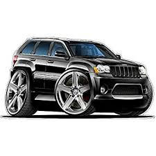 Amazon Com 2007 Suv Grand Cherokee Srt8 2ft Long Wall Decal Vintage 3d Car Movable Stickers Vinyl Wall Stickers For Kids Room Kitchen Dining