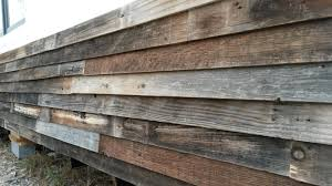 Siding A Tiny House With Up Cycled Fencing The Edge Of Green Tiny Houses