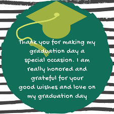 graduation thank you quotes and messages thank you quotes for you