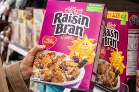 unhealthy kellogg s raisin bran from