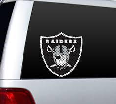 Las Vegas Raiders 12 X 12 Cutz Color Window Decal Buy At Khc Sports