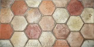 reclaimed terracotta antique tiles from