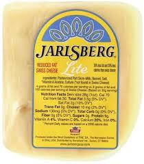 jarlsberg swiss lite cheese 1 ea