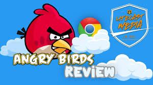Te' Game Reviews: Angry Birds Chrome - YouTube