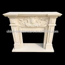 marble hand carving table top fireplace