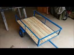 lawn mower trailer garden cart