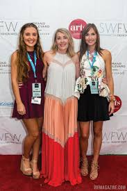 Abigail Ryan, VIE Marketing Assistant and SWFW Model; Lisa Burwell, VIE  Publisher and SWFW Emerging Designer Competition Judge; and … | Fashion  week, Fashion, Model